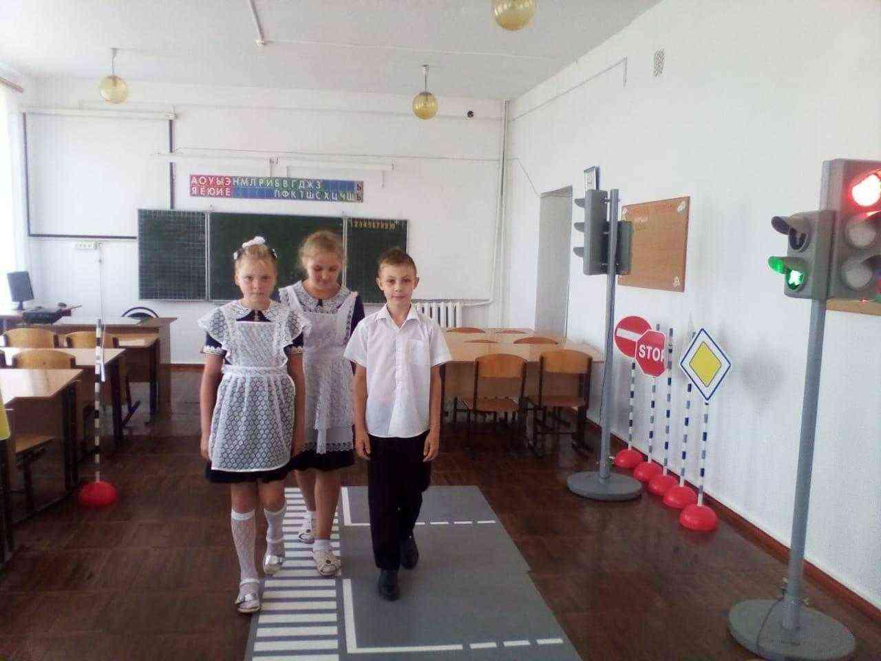 Уроки дорожной безопасности на базе школьного кабинета БДД