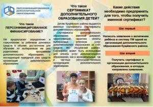 Сертификат дополнительного образования детей
